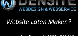 Website powered by Densite.nl